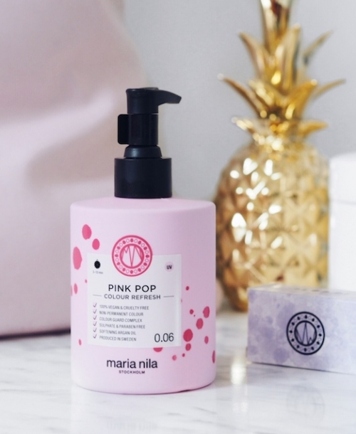 Ejvi Freedom: Recenze Maria Nila Colour Refresh Pink Pop